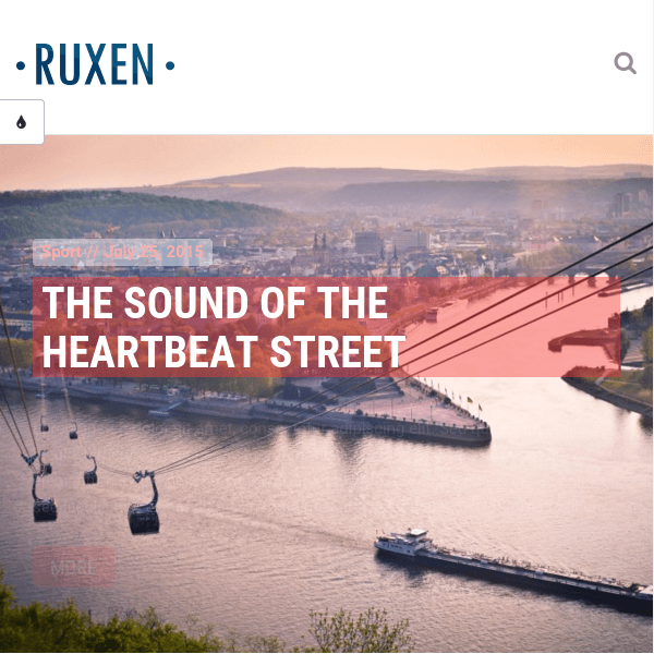 Ruxen - Responsive Blog & Magazine WordPress Theme