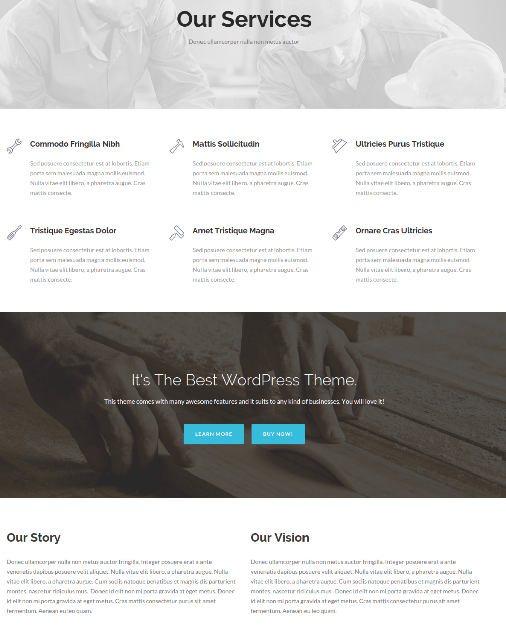 Services Page - Total Business