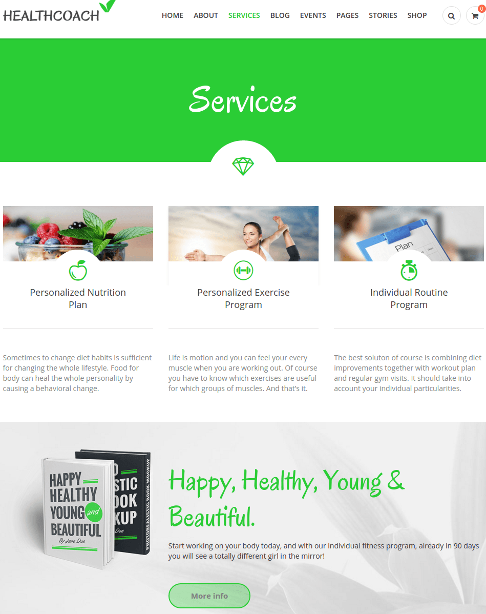 Services of HealthCoach