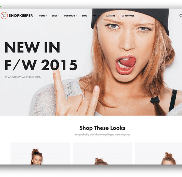 Shopkeeper - Fully responsive Ecommerce WordPress theme.