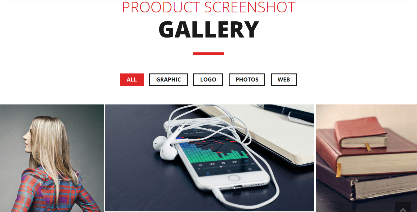 Sonno Gallery Page
