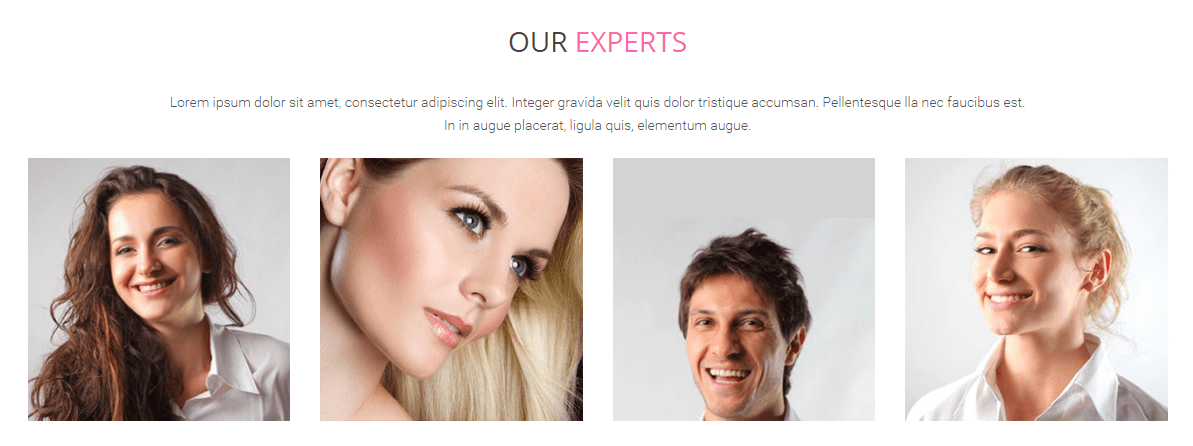 Spa - Our experts