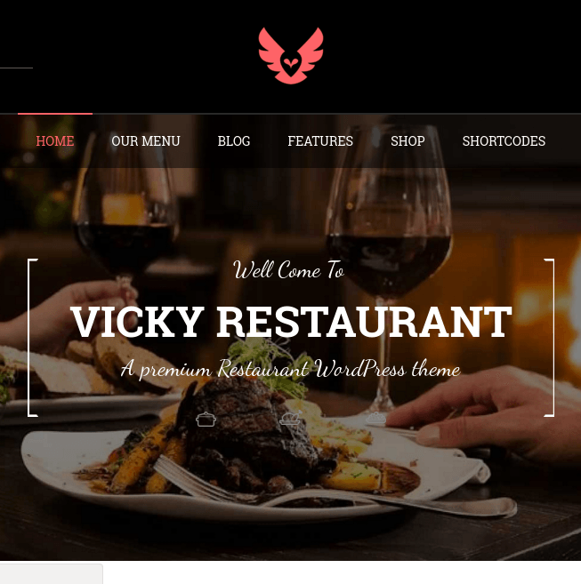 Vicky homepage