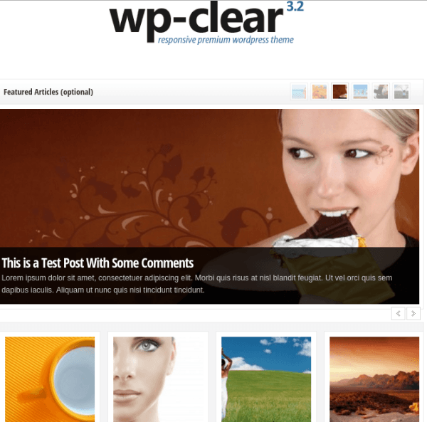 WP-Clear Theme