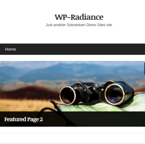 WP-Radiance Theme