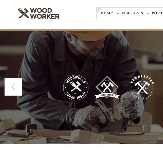 Woodworker homepage
