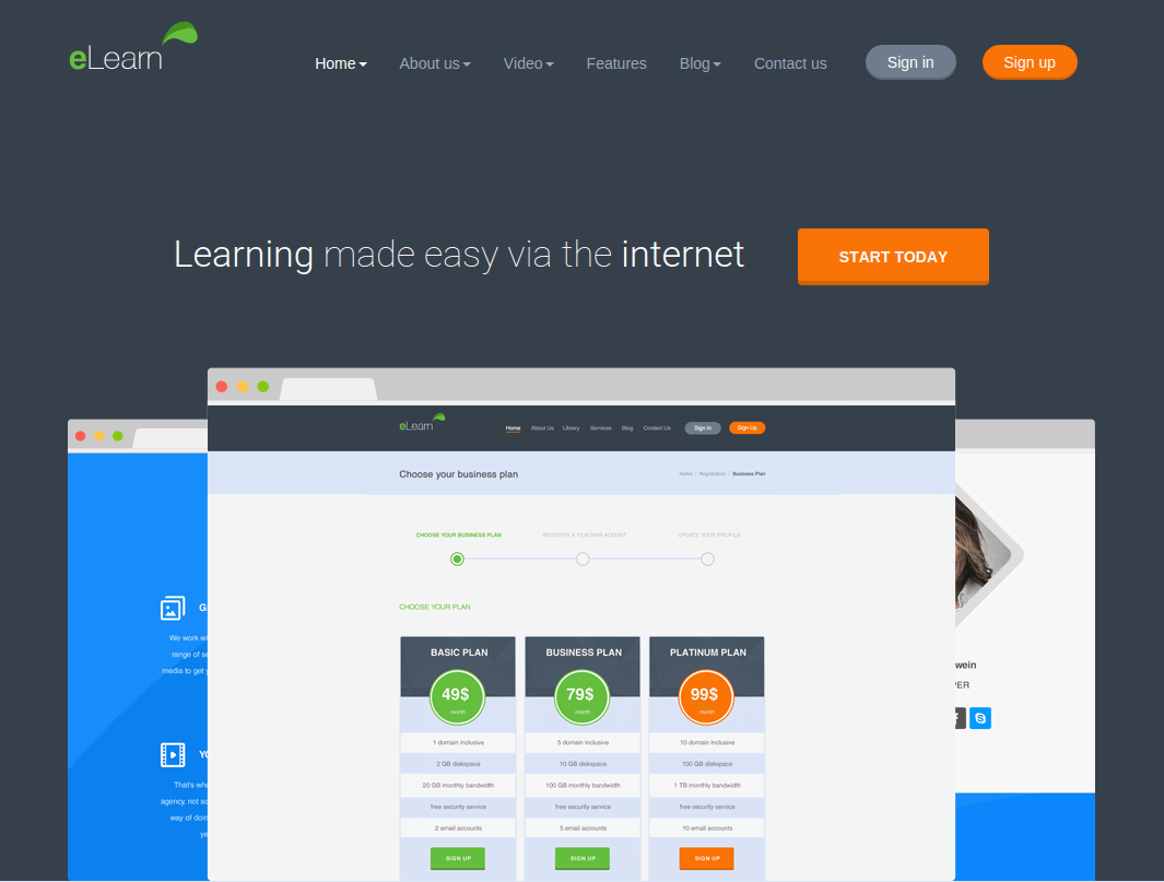 eLearn Home Page