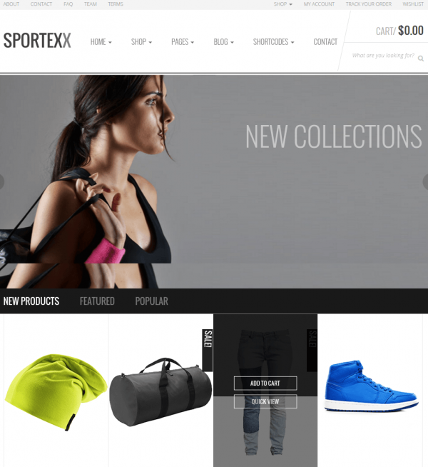 sportex wordpress theme