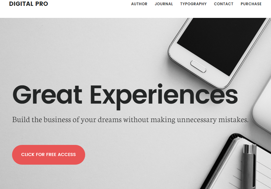 Digital Pro Genesis Theme for WordPress by StudioPress