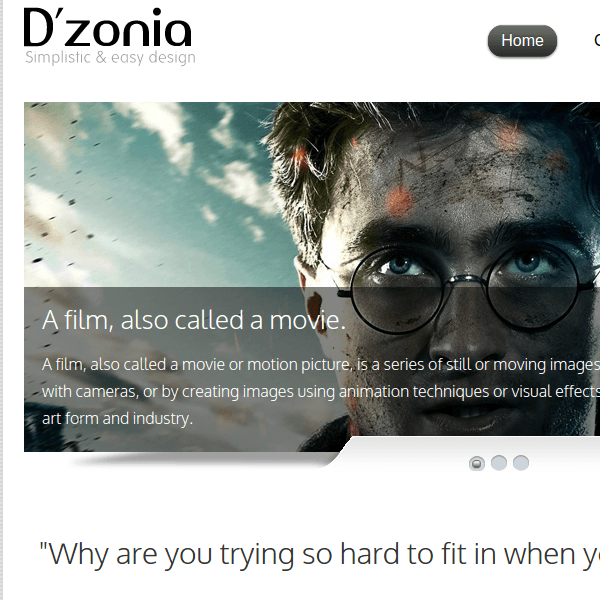 DZONIA - MOBILE PHONE WORDPRESS THEME