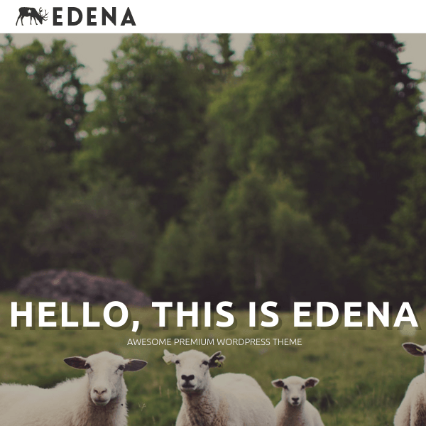 EDENA | Multipurpose WordPress Theme