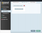 Fable - ePanel - Layout Settings - single page