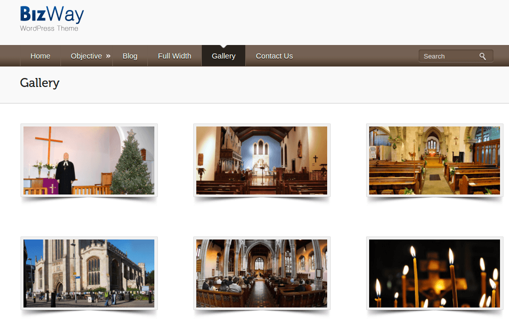 Gallery Page of BizWay