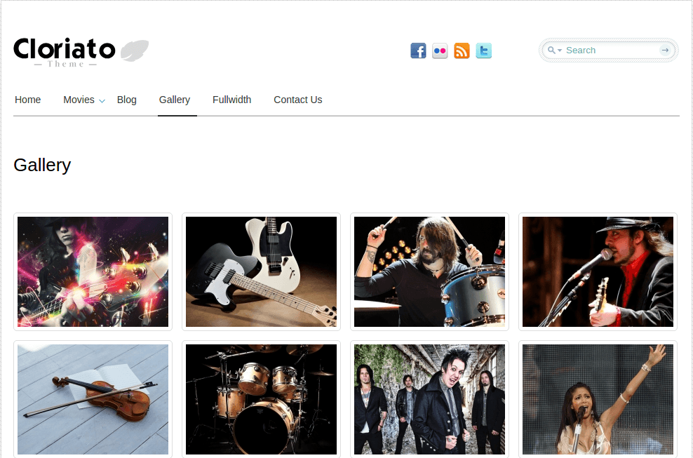 Gallery Page of Cloriato