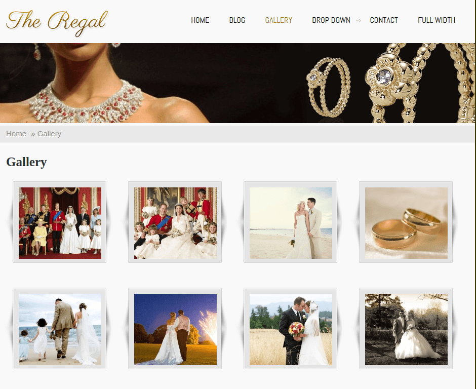 Gallery Page of Regal