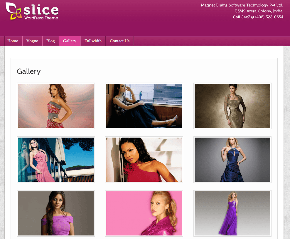 Gallery Page of Slice