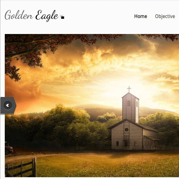 GOLDEN EAGLE - CHURCH WORDPRESS THEME