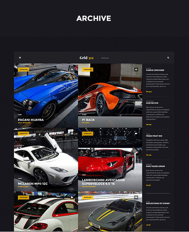 Grid 312 - archive page