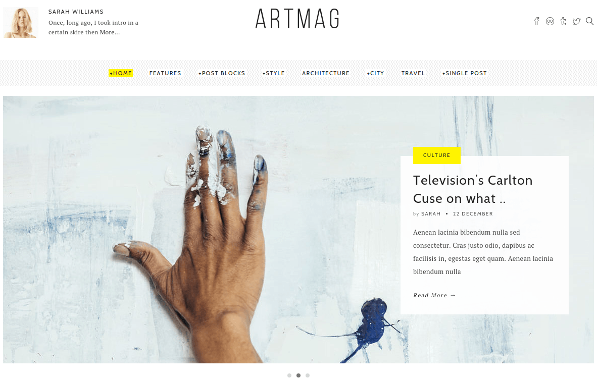 Home Page of Artmag