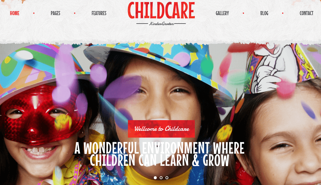 Home Page of Child Care
