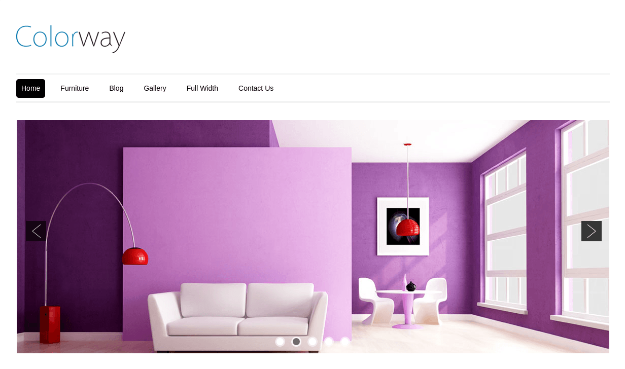 Home Page of Colorway v3