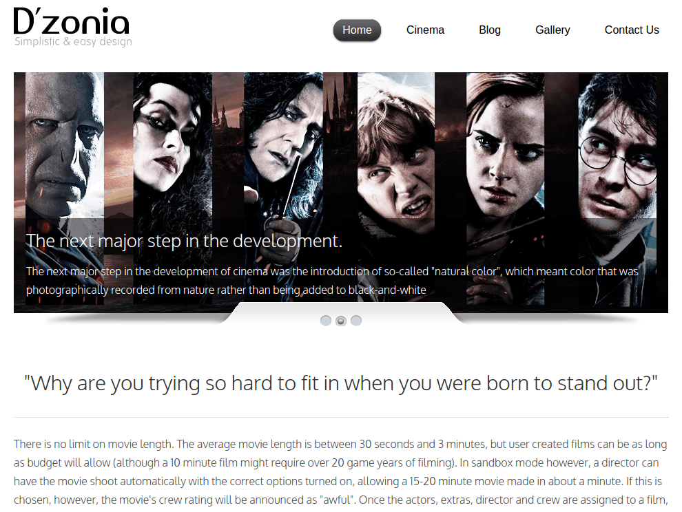 Home Page of Dzonia