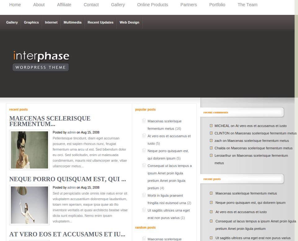 Home Page of InterPhase