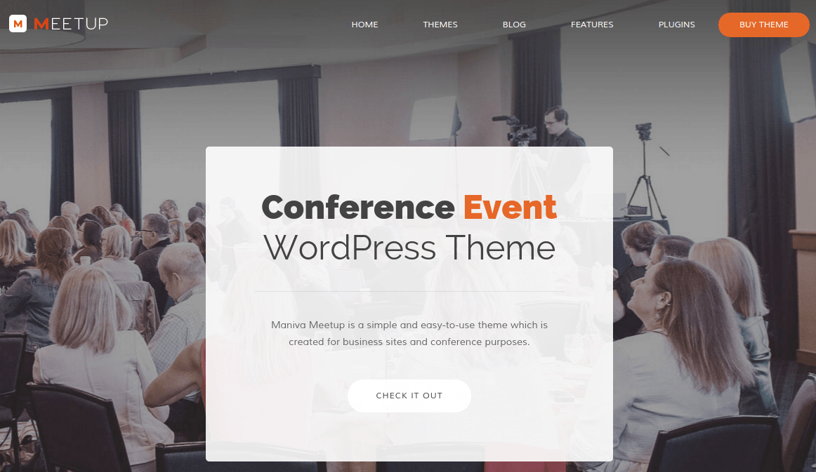 Home Page of Meetup