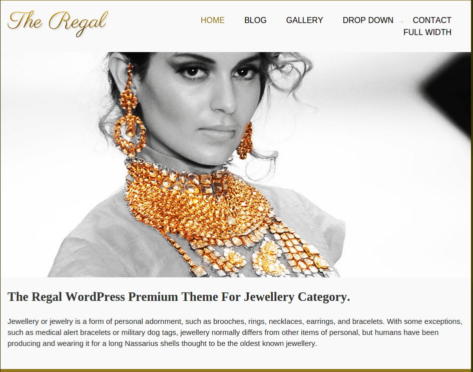 Home Page of Regal