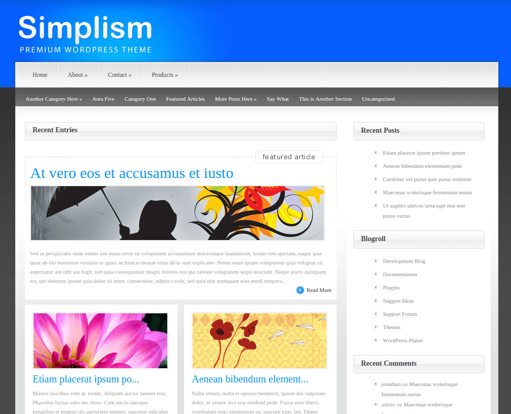 Home Page of Simplism