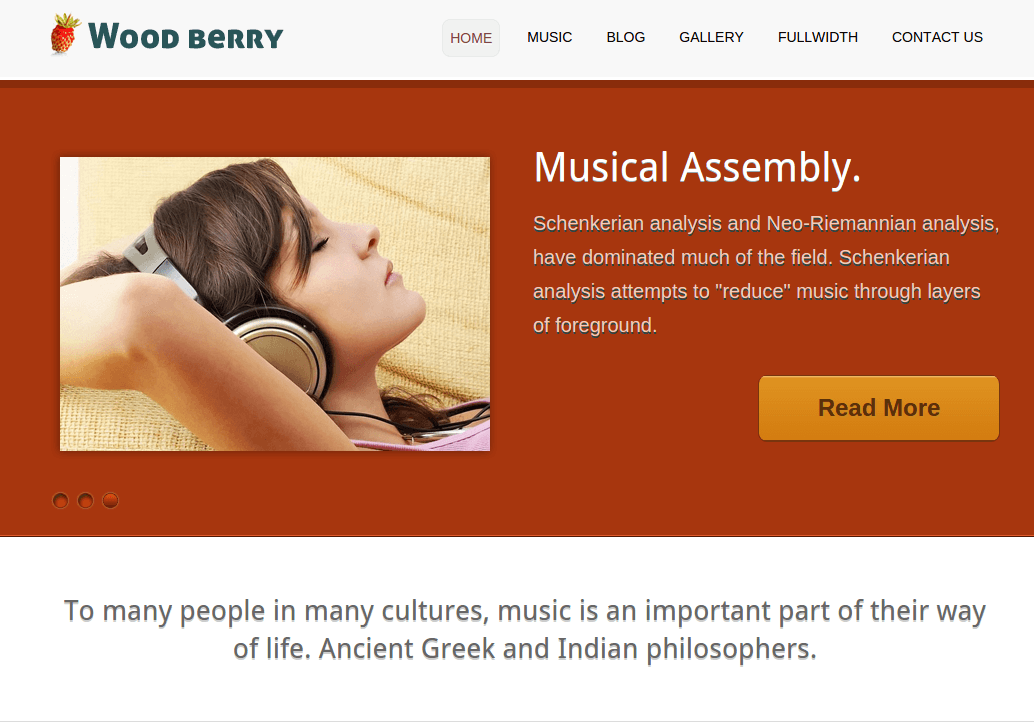 Home Page of Woodberry