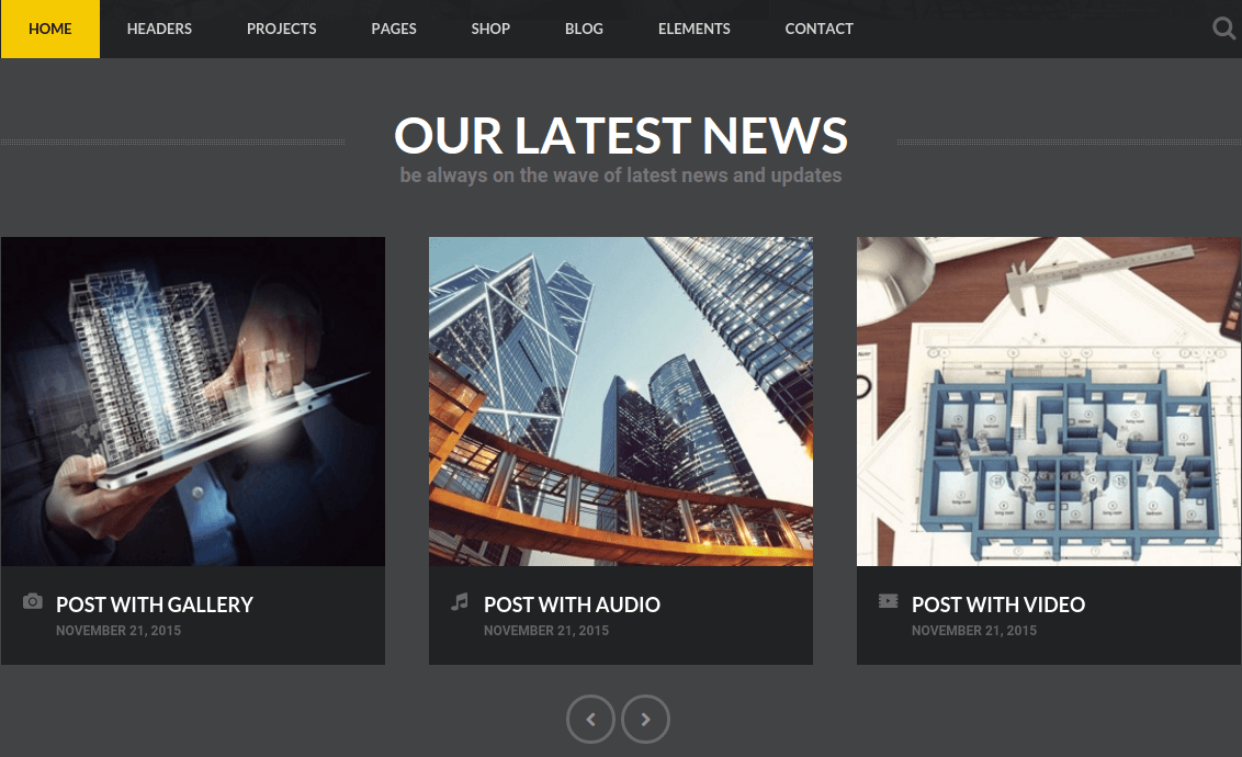 Latest News Section of Invento