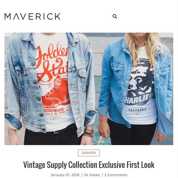 Maverick - Minimalist Blog/Magazine Theme