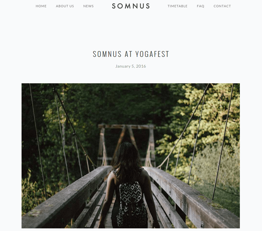 News Page of Somnus
