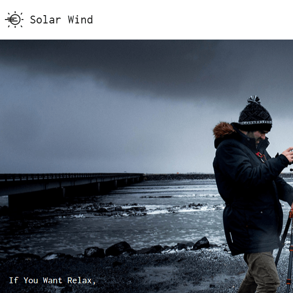 SolarWind Photography WordPress Theme