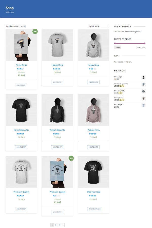 Benevolence - shop page