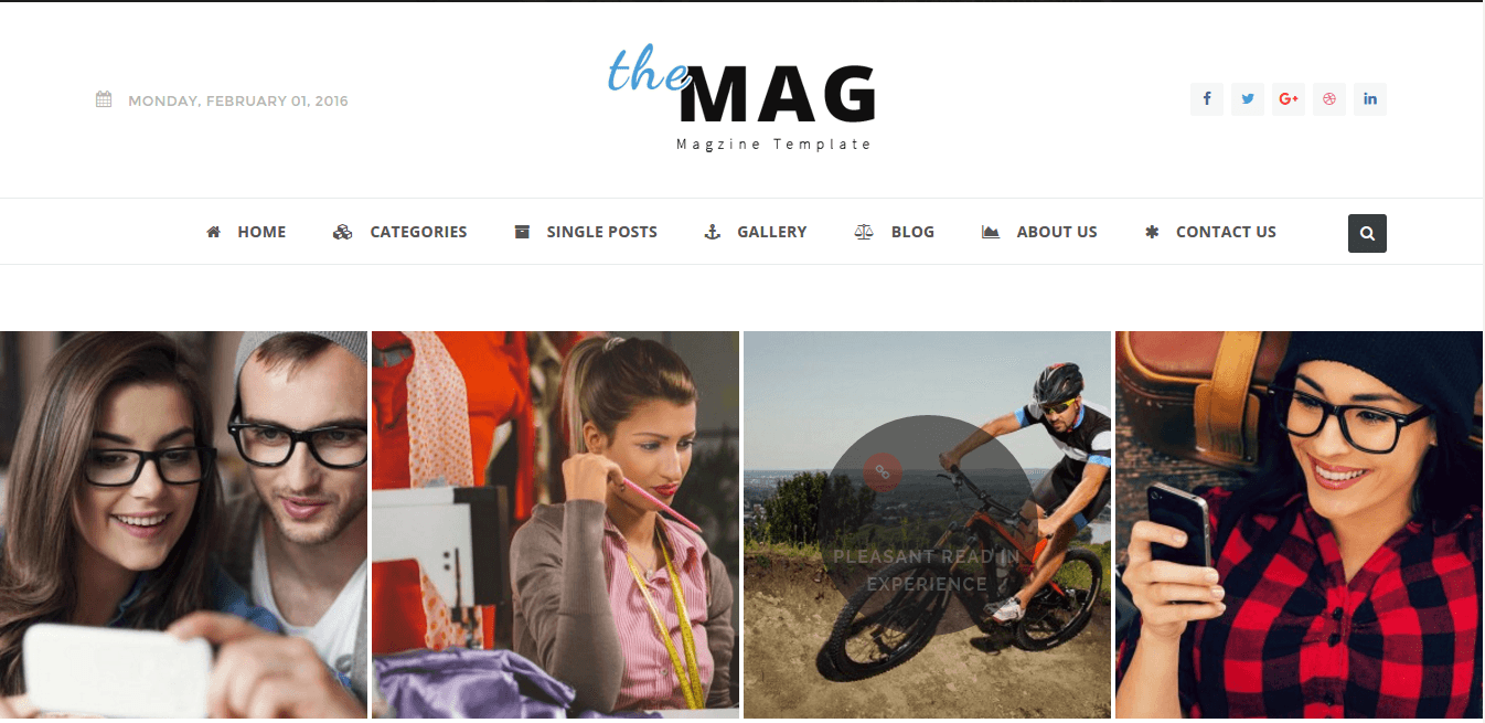 Gallery Page of TheMag