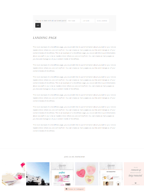 Glam Pro - Landing Page Template