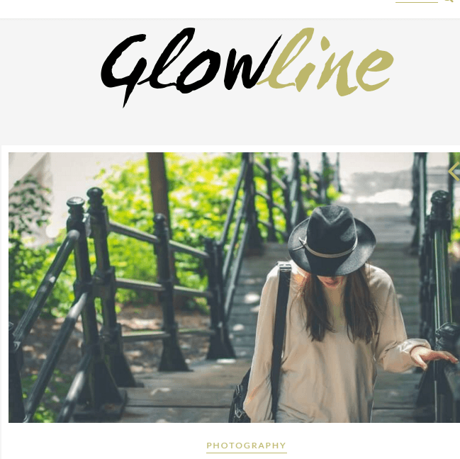 Glowline - WP Theme for blogging