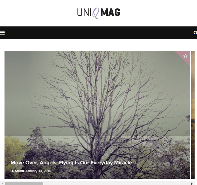 Uniqmag - Blog and Magazine WP Theme.